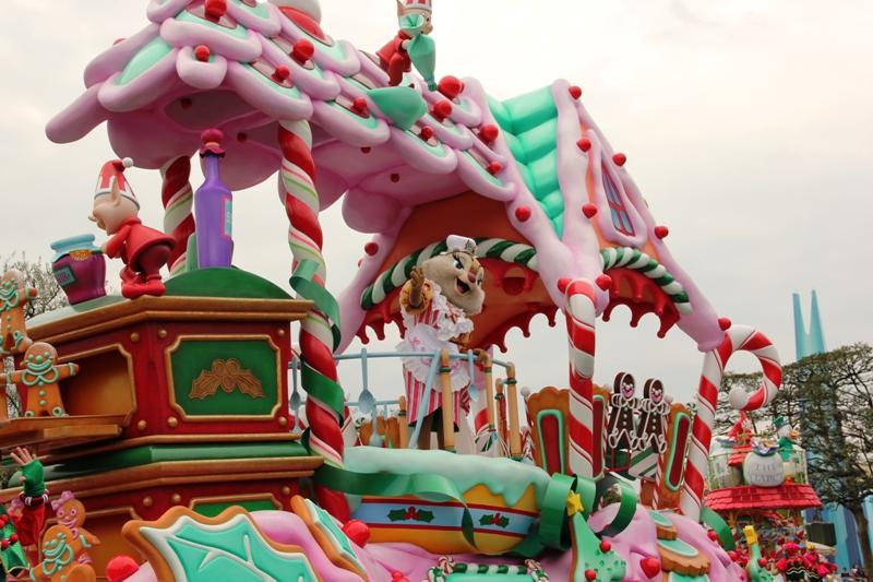 Tokyo Disneyland ~サンタヴィレッジ・パレード~ ※オット撮影編_a0127090_14345352.jpg