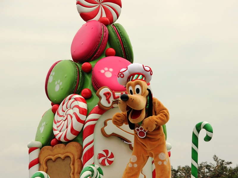 Tokyo Disneyland ~サンタヴィレッジ・パレード~ ※オット撮影編_a0127090_14364194.jpg
