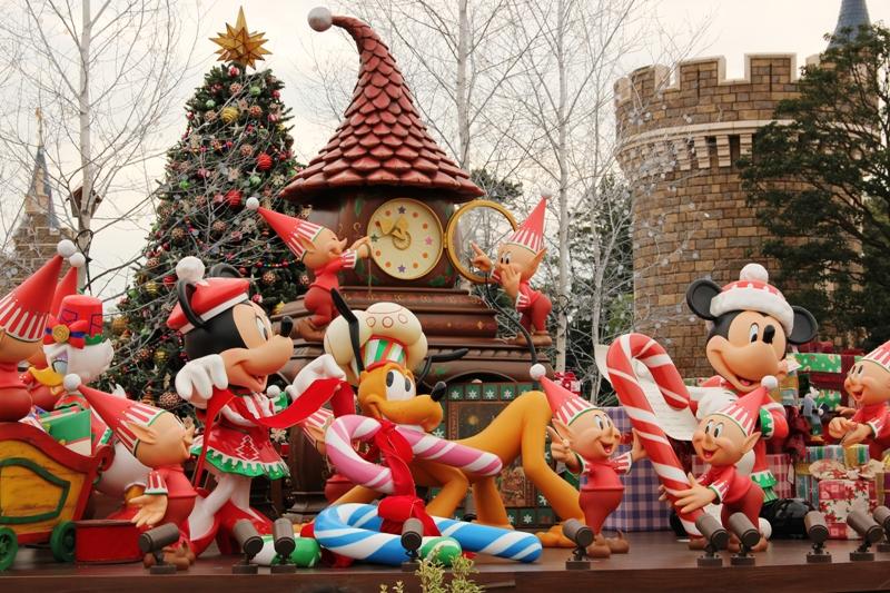 Tokyo Disneyland ~サンタヴィレッジ・パレード~ ※オット撮影編_a0127090_1442940.jpg