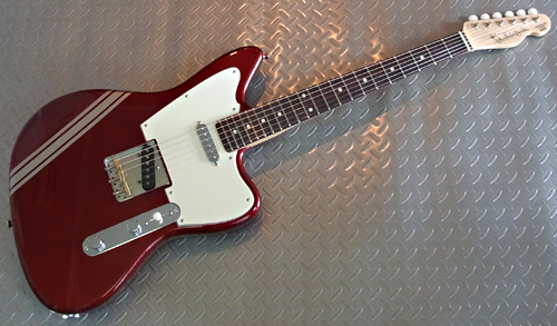 「Candy Apple RedのPsychocaster 2本目」が完成デス!_e0053731_17201518.jpg