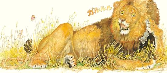 ライオンとねずみ_e0160269_11295093.jpg
