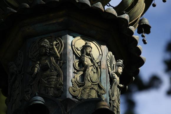 比叡山 延暦寺 相輪橖と香炉丘弥勒石仏_c0196076_22584872.jpg