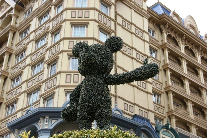 TOKYO DISNEYLAND HOTEL ~Sherwood Garden~_a0127090_1033162.jpg