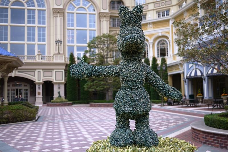 TOKYO DISNEYLAND HOTEL ~Sherwood Garden~_a0127090_1052255.jpg