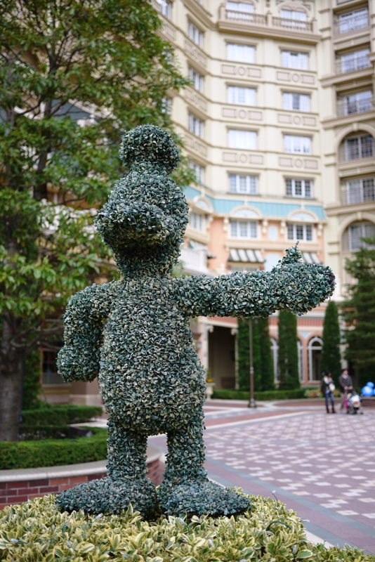 TOKYO DISNEYLAND HOTEL ~Sherwood Garden~_a0127090_1052938.jpg
