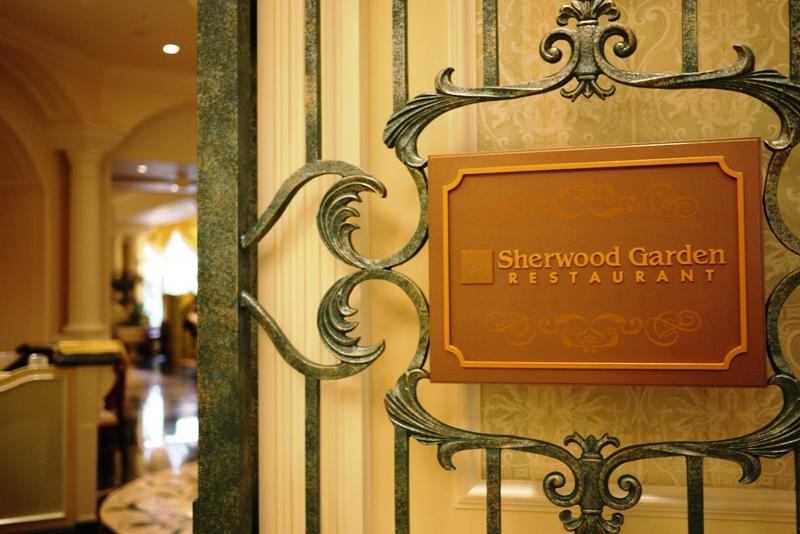 TOKYO DISNEYLAND HOTEL ~Sherwood Garden~_a0127090_107565.jpg