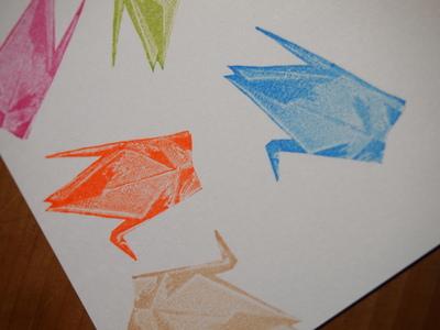 新作・折り鶴のはんこ。_c0154210_22563336.jpg