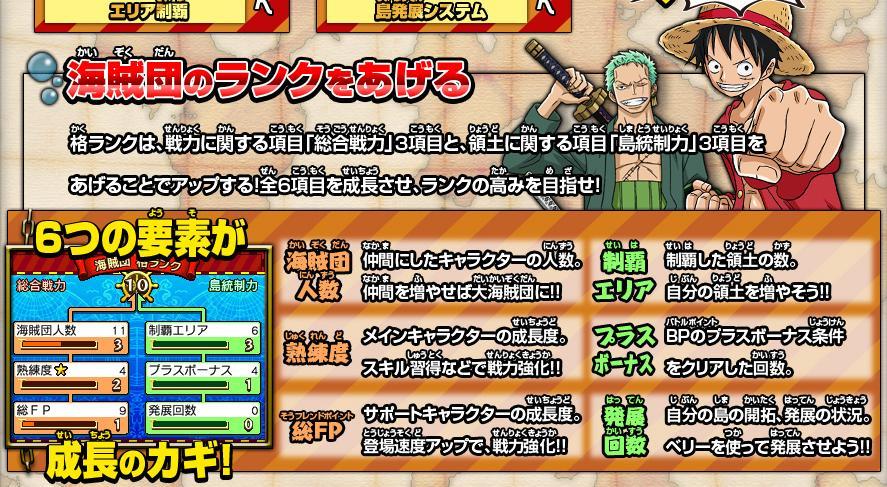 【ONE PIECE ギガントバトル2】海賊王に、俺はなるのか【ブログ】_f0017745_8233373.jpg