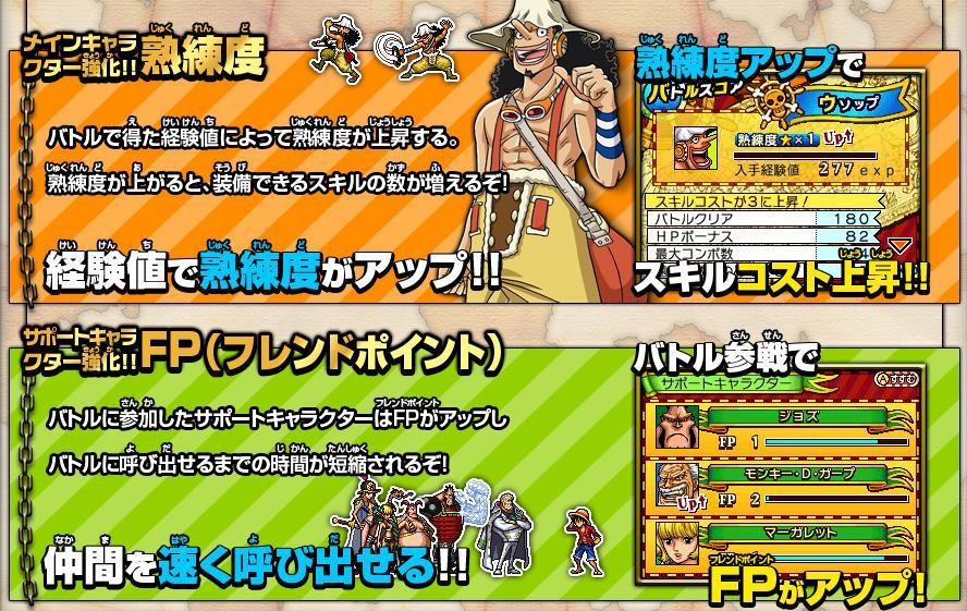 【ONE PIECE ギガントバトル2】海賊王に、俺はなるのか【ブログ】_f0017745_8234725.jpg