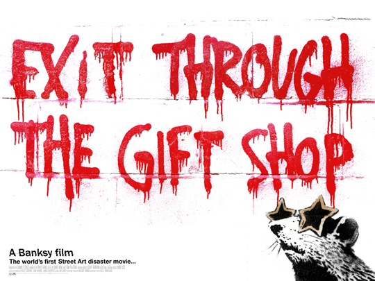 EXIT THROUGH THE GIFT SHOP : A Banksy Film / CENDRILLON+ present\'s 松山上映決定! _f0148146_1917112.jpg