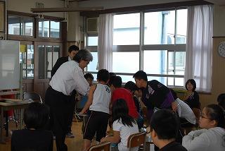 フェアー後の活動 その1 小学校訪問_d0047461_15384627.jpg