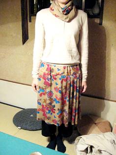 『ちくちく手縫い教室』あったかギャザースカート作り_b0153663_22485651.jpg