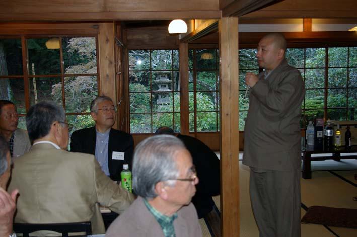 如水会鎌倉支部総会で現役の一橋大学の学長が初講演_c0014967_2214714.jpg