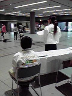 子育て応援フェアでボランティア活動を行いました。_c0204368_18191374.jpg
