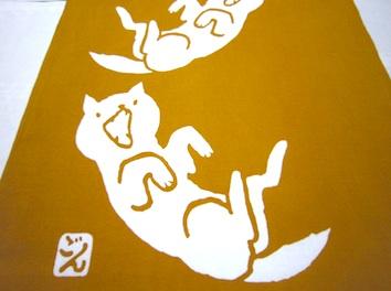 オリジナル柴犬手ぬぐい_b0002599_1481189.jpg