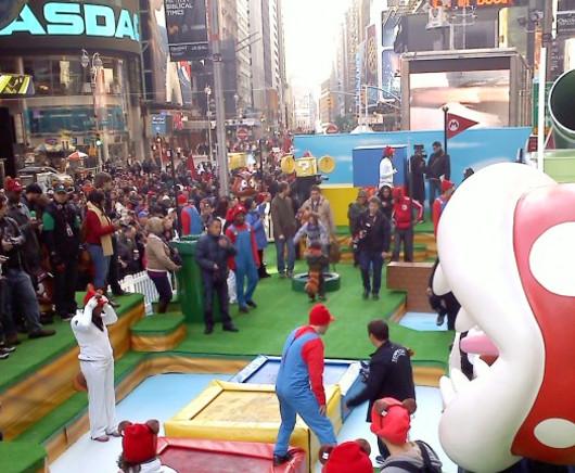 ニューヨークのタイムズ・スクエアがスーパー・マリオ・ランドに変身?!_b0007805_031585.jpg