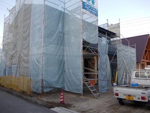 豊科H邸外壁完了_c0218716_17502326.jpg