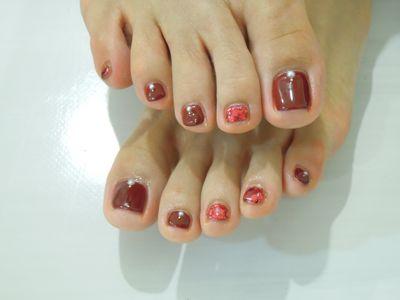Red Foot Nail_a0239065_18172659.jpg