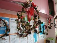 クリスマスリース作り_f0202388_21575362.jpg
