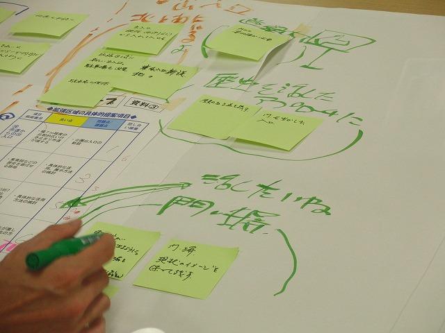 グループごとの検討の進め方が興味深い「吉原公園再整備検討」ワークショップ_f0141310_804384.jpg