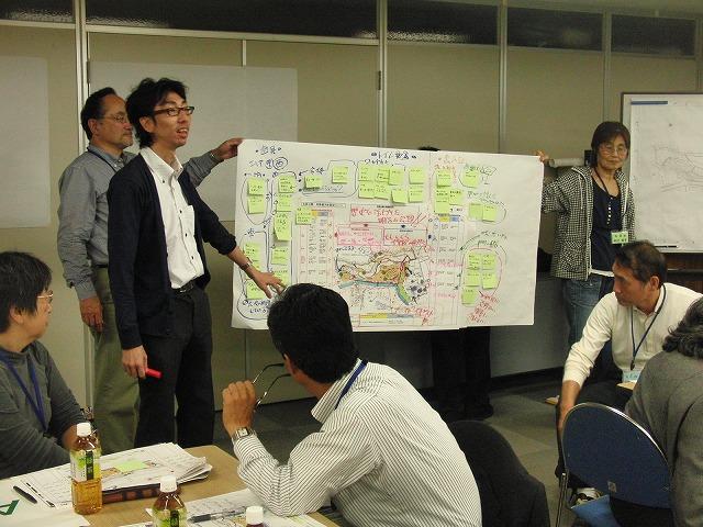 グループごとの検討の進め方が興味深い「吉原公園再整備検討」ワークショップ_f0141310_832386.jpg