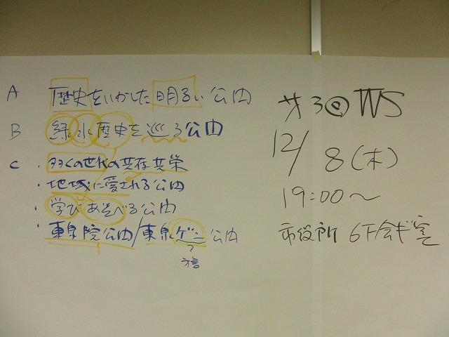 グループごとの検討の進め方が興味深い「吉原公園再整備検討」ワークショップ_f0141310_835732.jpg
