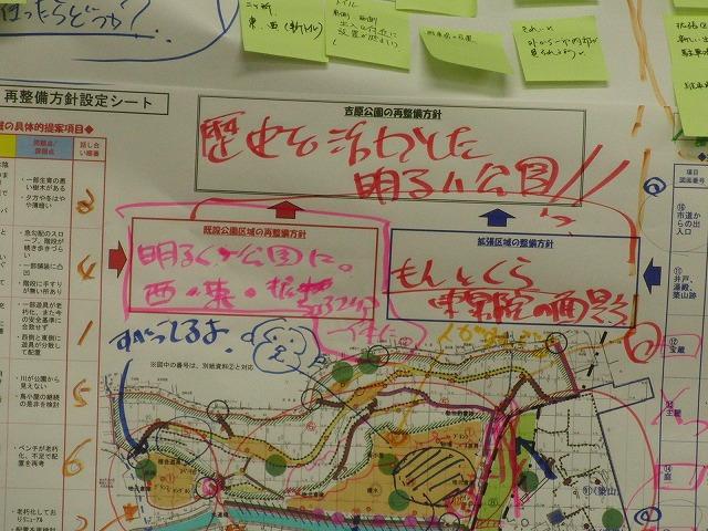 グループごとの検討の進め方が興味深い「吉原公園再整備検討」ワークショップ_f0141310_885785.jpg
