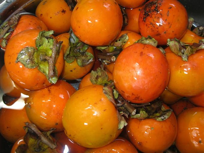 渋柿「干柿」作り~~☆_a0125419_16112419.jpg