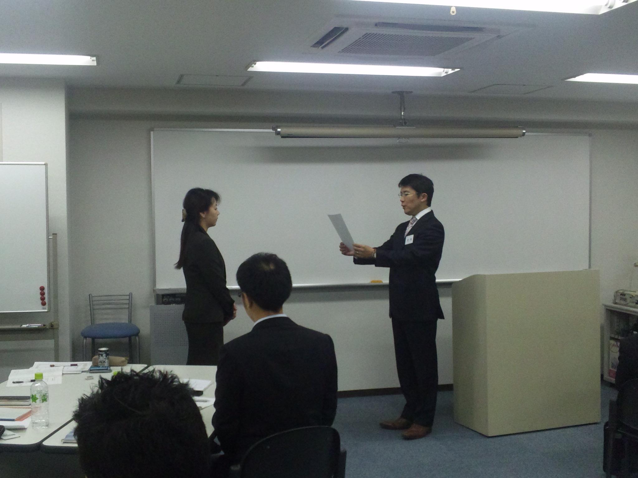 幹部育成講座大阪コース修了_f0054720_21204283.jpg