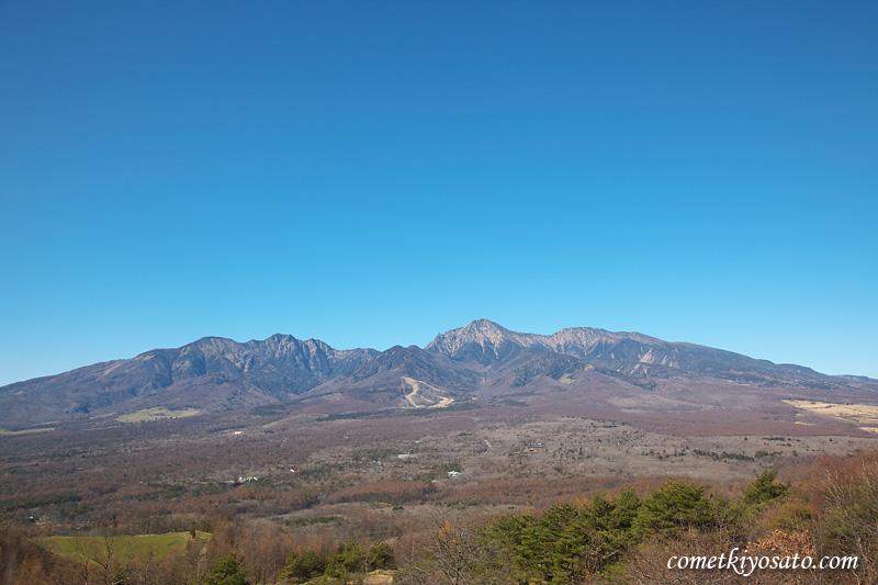快晴の八ヶ岳、気持ちがいいい!_b0179231_1233278.jpg
