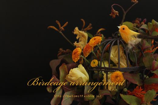 秋の鳥かごアレンジ。_d0124248_2111668.jpg