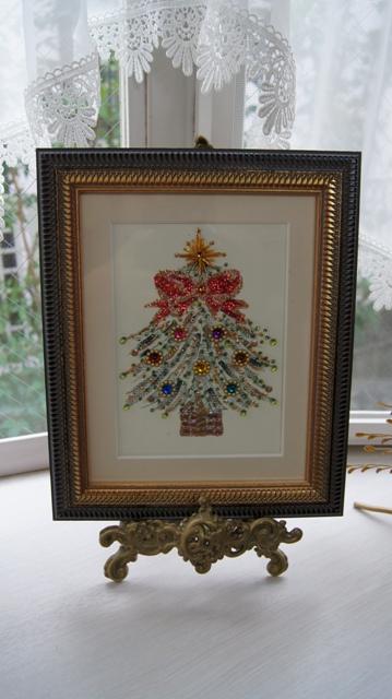 出窓をクリスマスイメージに~♪_f0029571_322452.jpg
