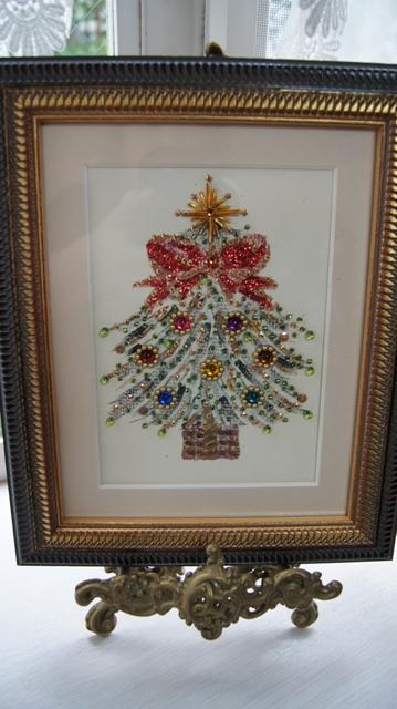 出窓をクリスマスイメージに~♪_f0029571_3292226.jpg