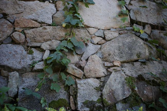 福山城 石垣