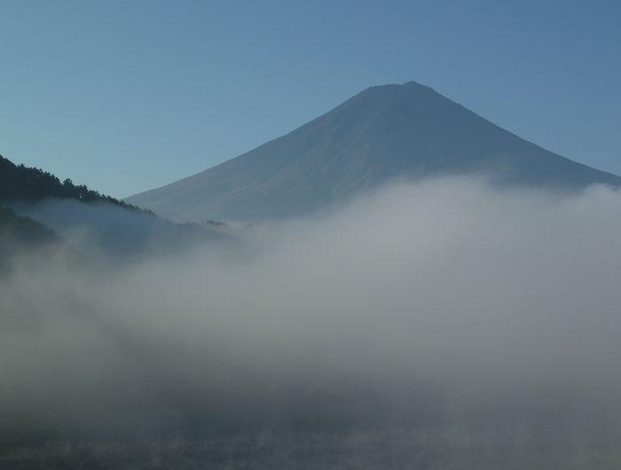 河口湖からの早朝 6/7_b0093088_92224.jpg