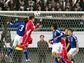 サッカー日朝戦_c0204289_19225313.jpg