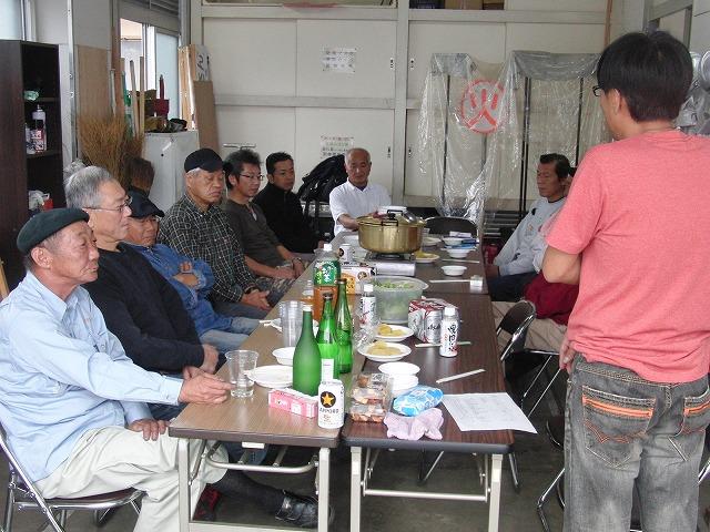 「小潤井川 友の会」設立記念の芋煮会_f0141310_7574160.jpg