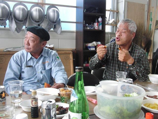 「小潤井川 友の会」設立記念の芋煮会_f0141310_7595794.jpg