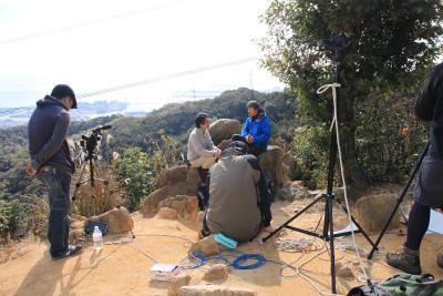 六甲山ロックガーデン・東おたふく山から黒岩西尾根を登る_d0055236_21104614.jpg