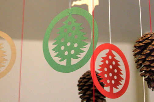 すべての折り紙 クリスマス折り紙飾り作り方 : クリスマスモビール2008年版は ...