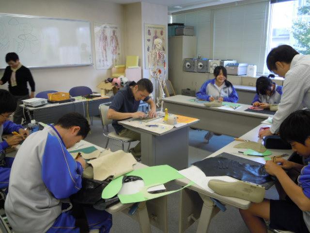 御徒町台東中学校の職場体験学習_b0206365_19452947.jpg
