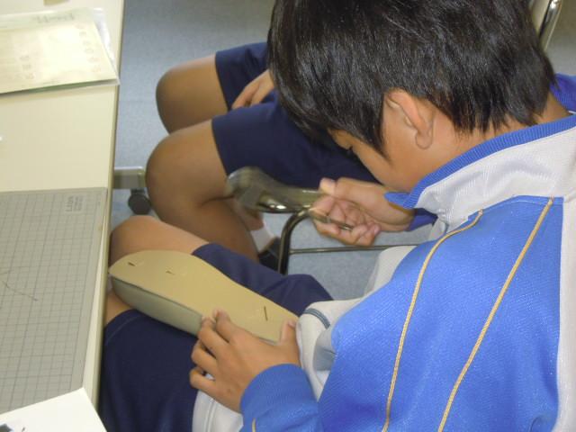 御徒町台東中学校の職場体験学習_b0206365_1950048.jpg