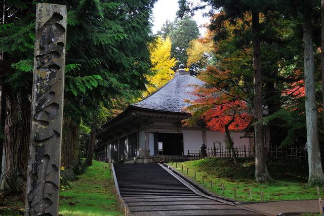 世界遺産 金色堂と経堂_b0223668_1093856.jpg