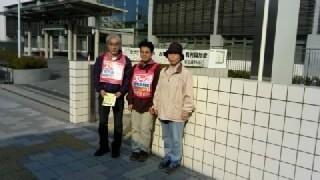 裁判所前でビラまき_a0238678_11283231.jpg