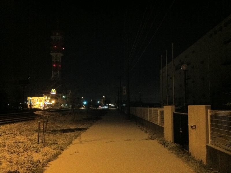 苫小牧 初雪 朝のウォーキング   iPhone+iCloudで_a0160581_8392578.jpg