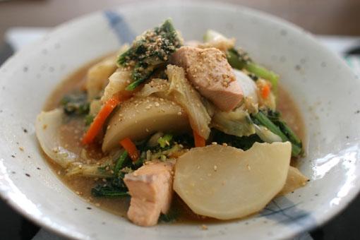 たっぷり野菜の味噌蒸し煮_c0182144_9211380.jpg
