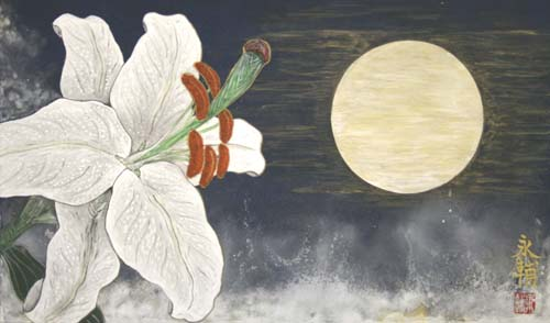 月光の花 (The flower of moonlight )_e0224057_19415397.jpg