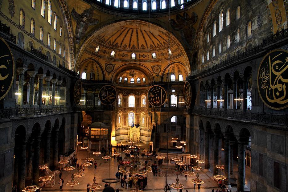 ブルーモスク アヤソフィア トプカプ宮殿                イスタンブールその2_a0107574_0572254.jpg