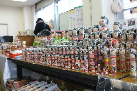 「MY FIRST KOKESHI!~はじめての伝統こけし~    in 高円寺フェス2011」 2011・11・12_b0209890_18253685.jpg