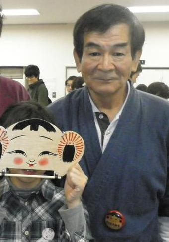 「MY FIRST KOKESHI!~はじめての伝統こけし~    in 高円寺フェス2011」 2011・11・12_b0209890_18432323.jpg